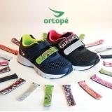 Tênis ORTOPÉ Troca Tiras Preto/Pink